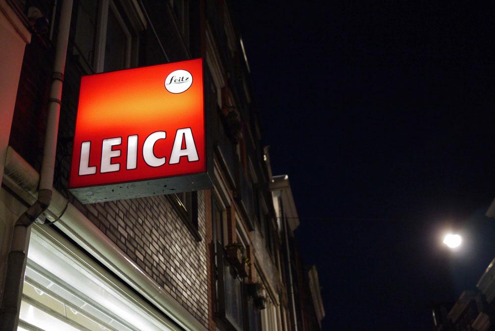Logo der Kameraherstelerin Leica