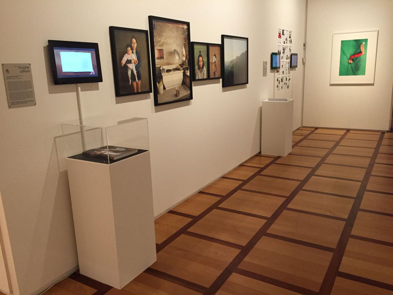Ein Blick in die letzte Ausstellung des Musée Elysée