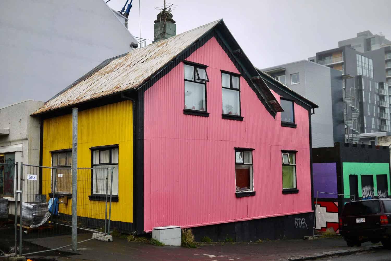Ein Haus in Reykjavik