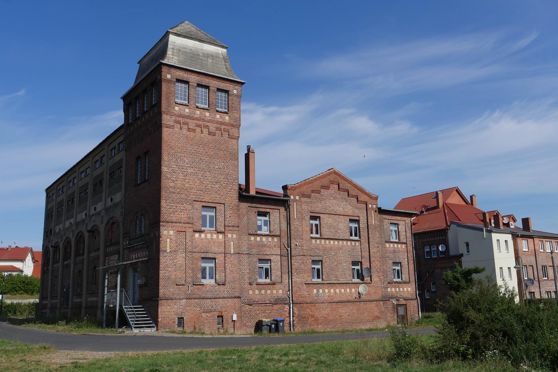 Ein Industriebau aus dem Angang des 20. Jahrhunderts