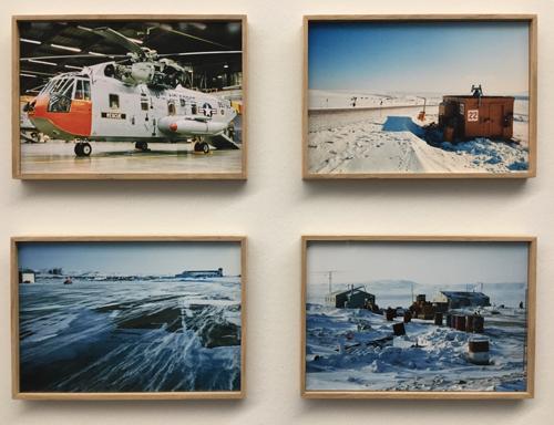 Vier Fotografien von Andreas Zünd aus Grönland