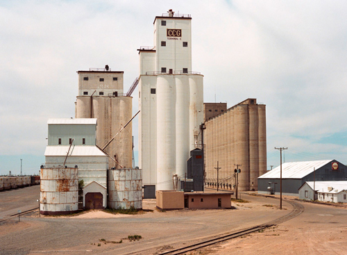Eine grosse Mühle irgendwo im Westen der USA