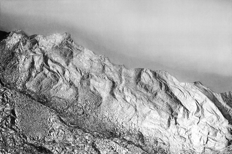 Eine Berglandschaft, die keine ist