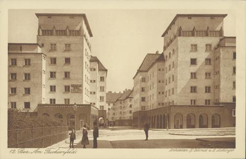Ansichtskarte aus dem Roten Wien: Edmund-Reismann-Hof