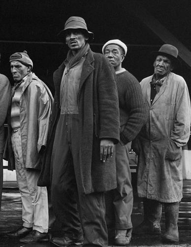 Südafrika. Fischer warten auf die Rückkehr der Boote (1968)