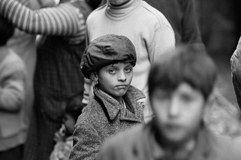 Kinder in Pozzuoli, Italien, 1970