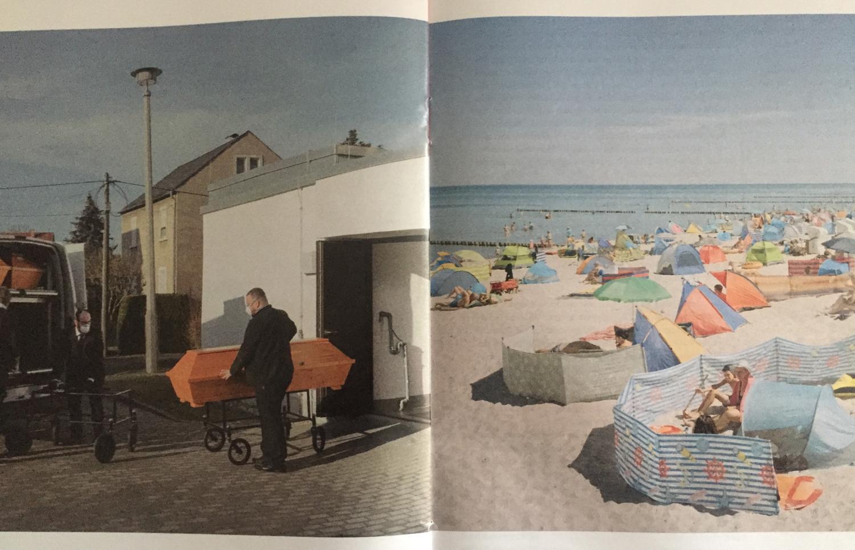 Zwei Seiten aus dem ZEIT Magazin mit Fotos von Ingmar Björn Nolting