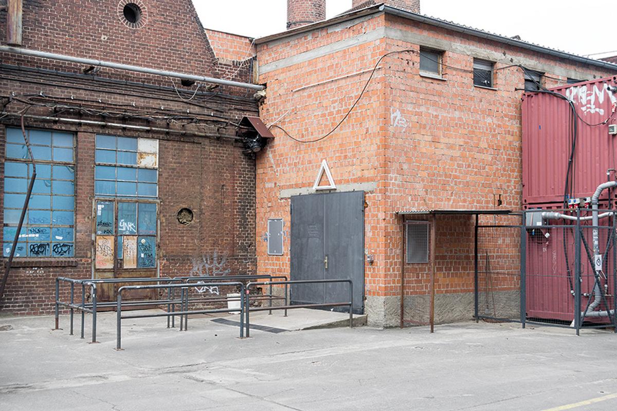 Das Gebäude des Clubs about Blanc in Berlin