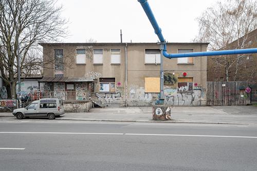 Das Gebäude des Berliner Clubs Astra