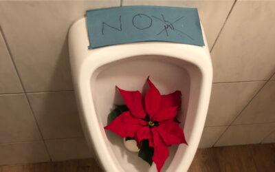 Duchamp defekt: stillgelegte Urinale